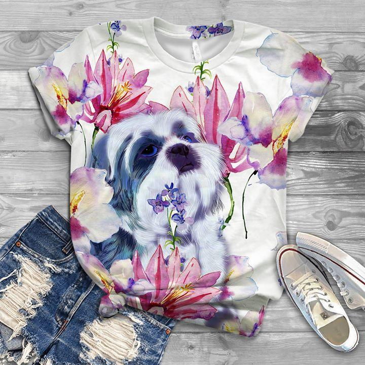 Shih Tzu T-shirt ds009
