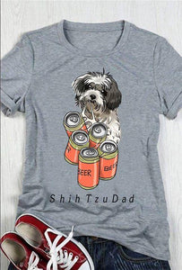 Shih Tzu T-shirt ds004