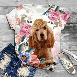 Cocker Spaniel T-shirt ds011