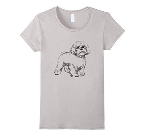 Maltese T-shirt ds002