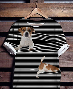Jack Russell T-shirt ds019