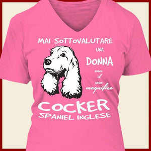 Cocker Spaniel T-shirt ds025