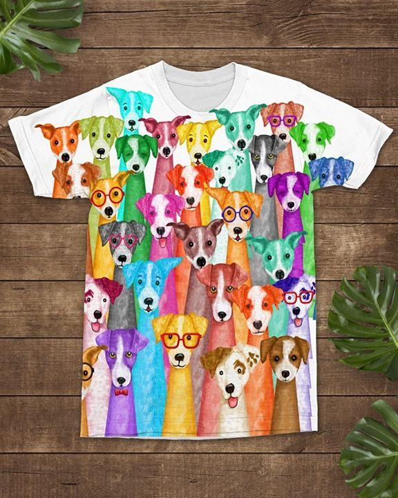 Jack Russell T-shirt ds005