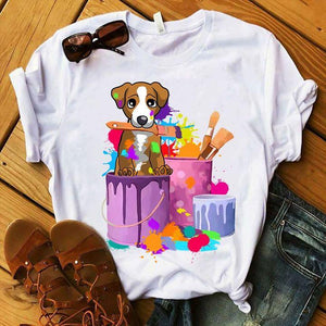 Jack Russell T-shirt ds009