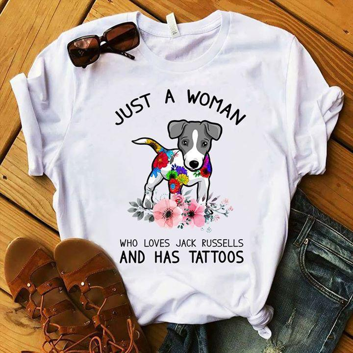 Jack Russell T-shirt ds014