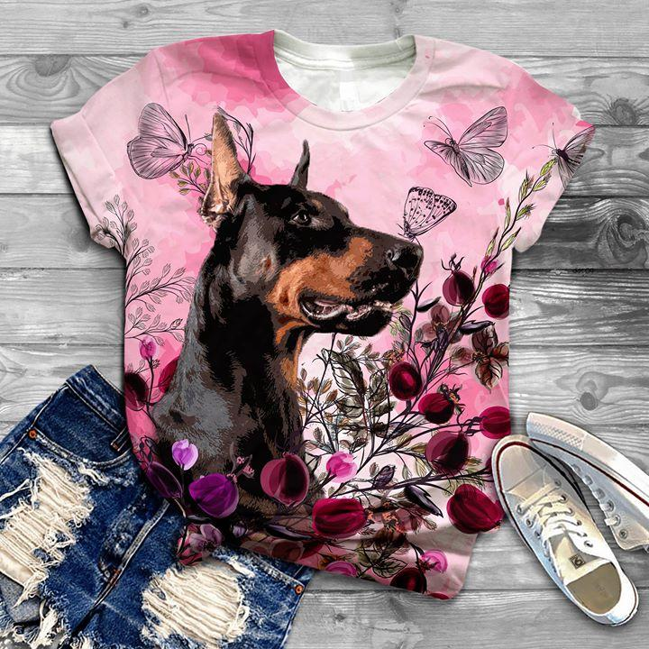 Doberman T-shirt ds013