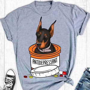 Doberman T-shirt ds008