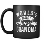 WORLD'S MOST AWESOME GRANDMA MUG