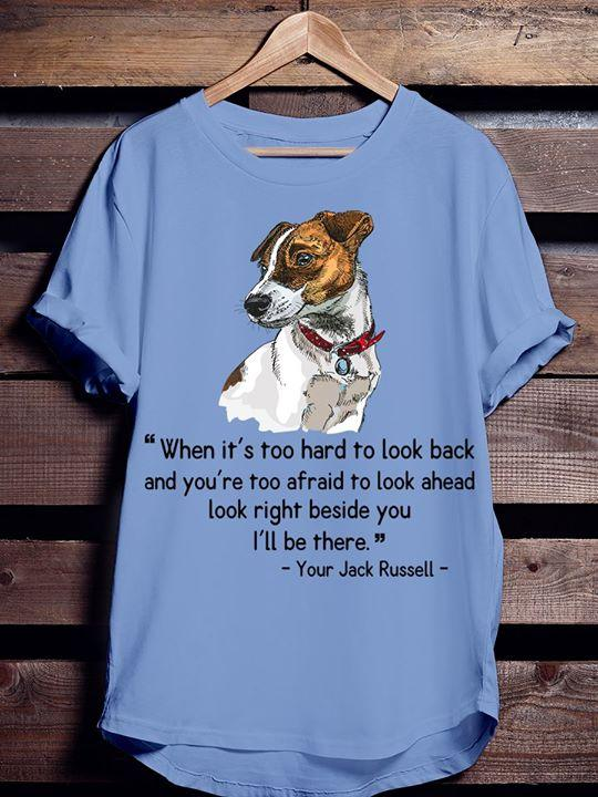 Jack Russell T-shirt ds028