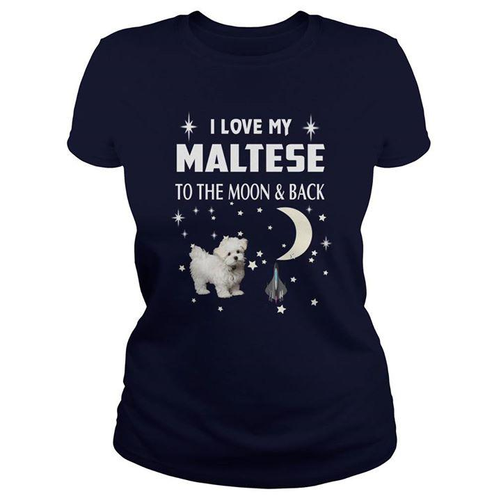 Maltese T-shirt ds007