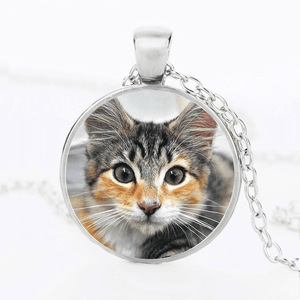 PERSONALIZED PHOTO CAT LOVER PENDANT™