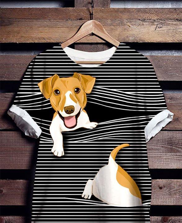 Jack Russell T-shirt ds016