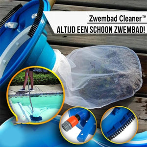 Vacuum swimming pool cleaning device