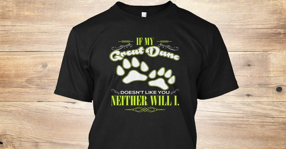Great Dane T-shirt ds009