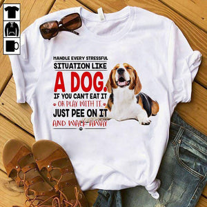 Beagle T-shirt ds007