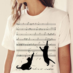 Cat T-shirt ds098