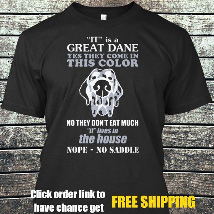 Great Dane T-shirt ds027