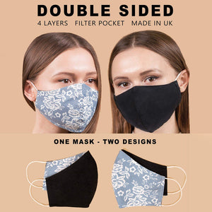 Washable Anti Dust Printed Mask