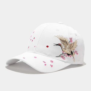 Special Embroidery Peaked Cap Sun Hat Baseball Cap