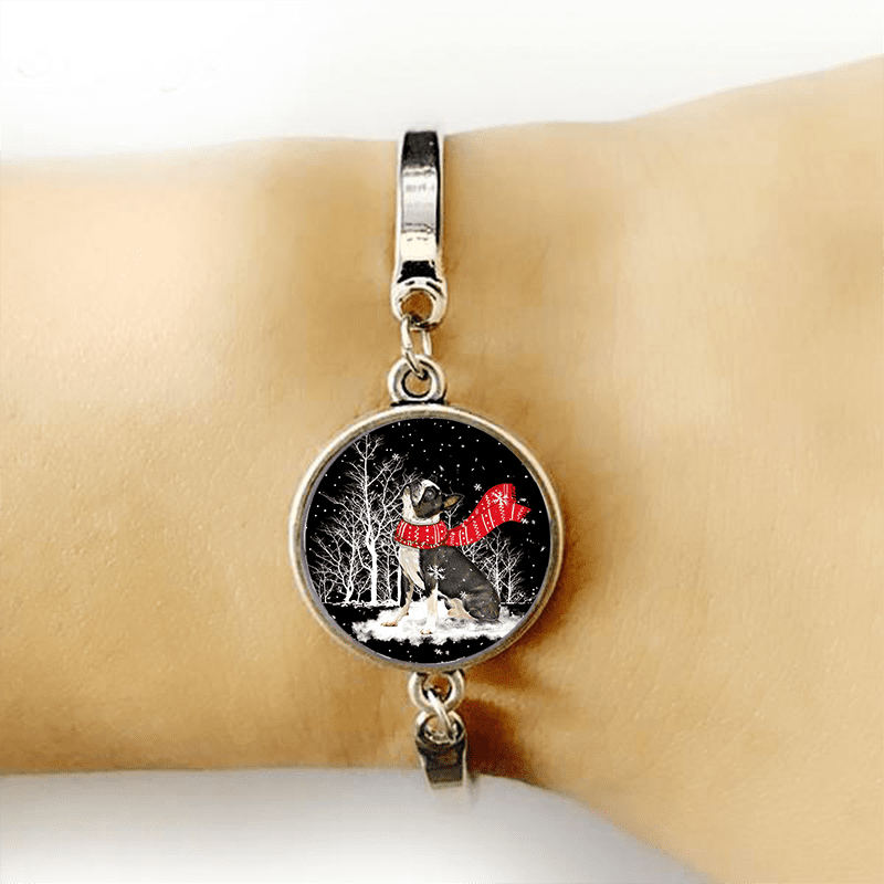 Boston Terrier ™ BRACELET SILVER FOR WINNERS fb106