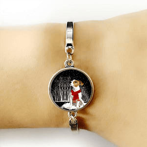 Jack Russell Terrier™ BRACELET SILVER FOR WINNERS fb121