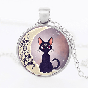 MOON CAT PENDANT™ SILVER FOR WINNERS