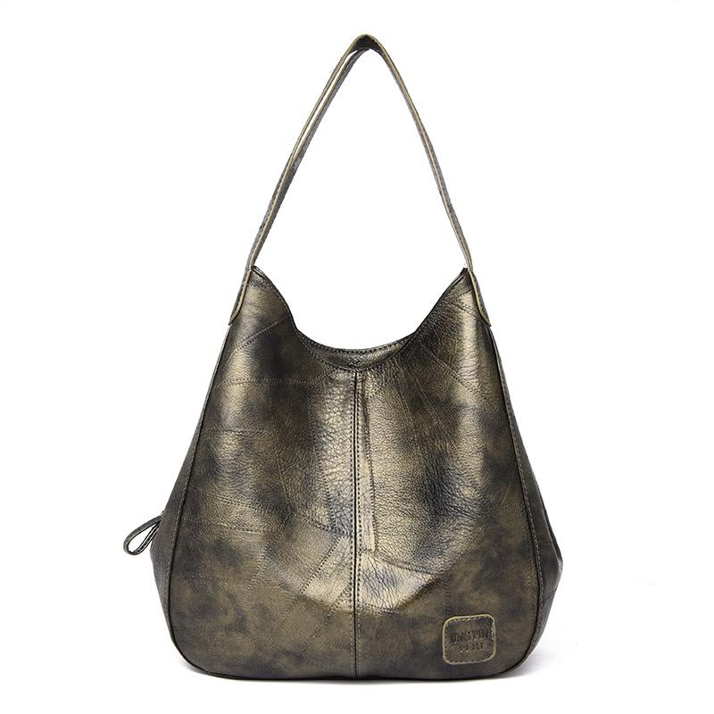 Women's vintage leather handbag