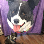 Custom Design Blanket For Dog