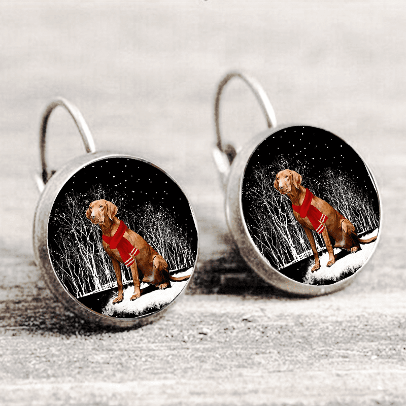 Vizsla™ EARRING Silver Only For Winners fb133