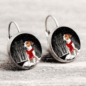 Jack Russell Terrier™ EARRING Silver Only For Winners fb121
