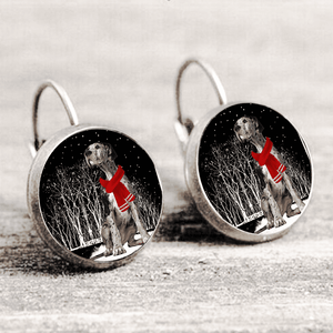 Great Dane™ EARRING Silver Only For Winners fb117