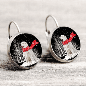 Great Pyrenees™ EARRING Silver Only For Winners fb118