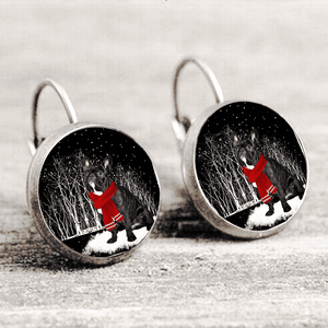French Bulldog™ EARRING Silver Only For Winners fb114