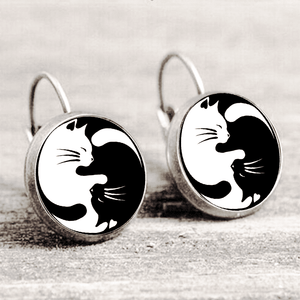 Cat Zen Earring™ Silver Only For Winners_