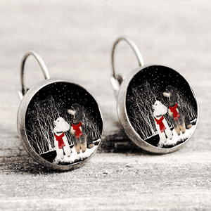 Poodle™ EARRING Silver Only For Winners fb125