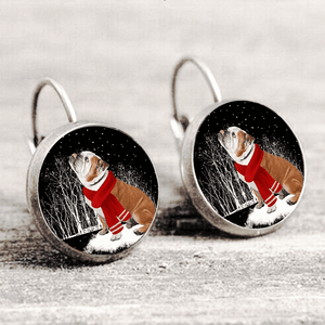 Bulldog™ EARRING Silver Only For Winners fb108