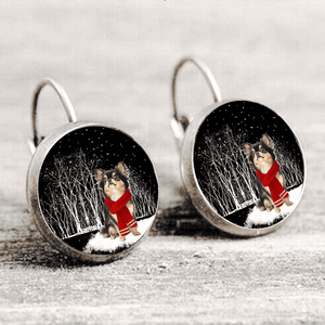 Chihuahua™ EARRING Silver Only For Winners fb109