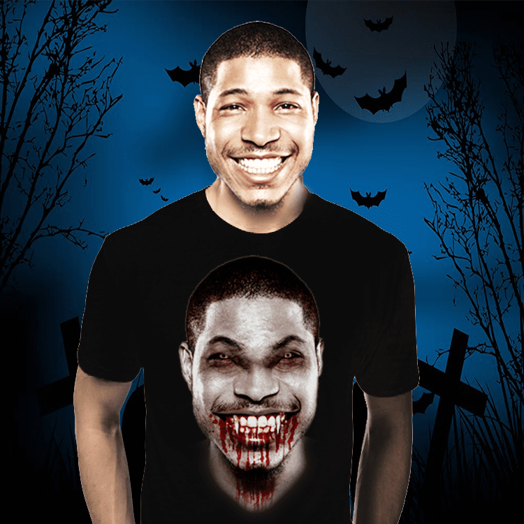 Halloween Shirt - Custom Photo
