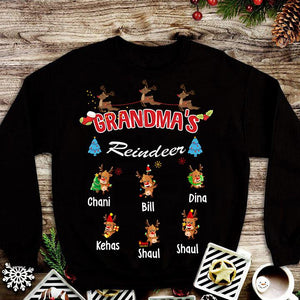 GRANDMA'S REINDEERS T-SHIRTS HOODIES CHRISTMAS EDITION ON SALE TODAY ONLY
