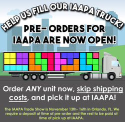Help us fill our IAAPA truck! Pre-orders for IAAPA are now open!