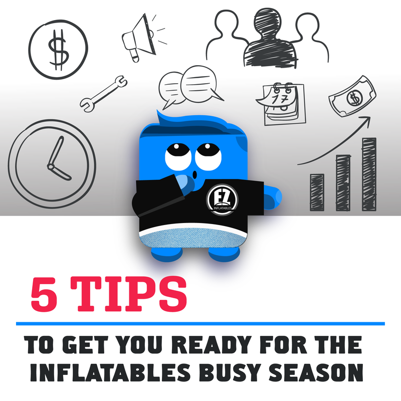 Tips to Help You for The Busy Inflatables Season