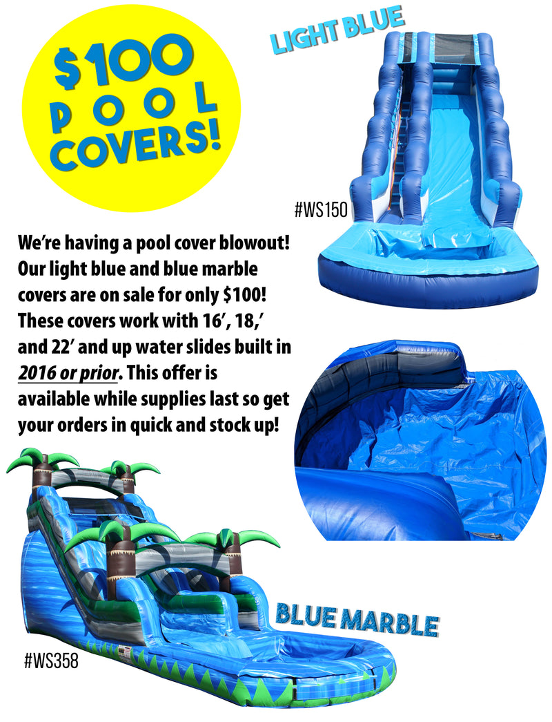 We're Having a Pool Cover Clearance Sale!