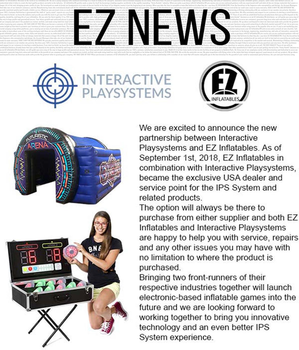 Exciting News from EZ Inflatables!