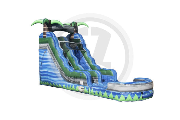 15 Ft Blue Crush Water Slide-WS1122-EZ Inflatables (1410971074602)