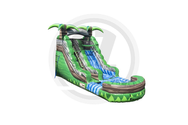 15 Ft Congo Rainforest Water Slide-WS1121-IP-EZ Inflatables