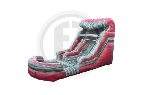 15 Ft Liquid Hot Magma Water Slide-WS1126-EZ Inflatables