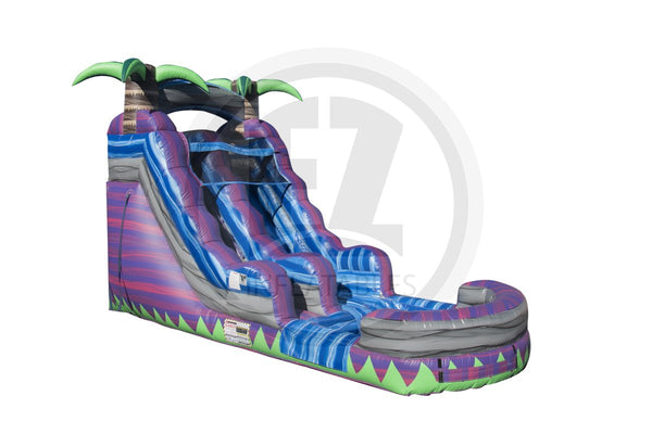 15 Ft Purple Crush Water Slide-WS1123-EZ Inflatables (1410899902506)