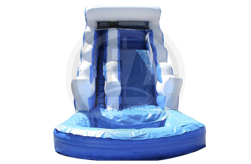 16 Ft Blue Lagoon Water Slide-WS157-EZ Inflatables (1361674207274)