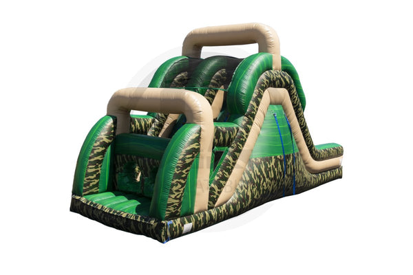 16 Ft Bootcamp Slide Dual Lane-S1023-EZ Inflatables