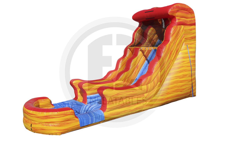 16 Ft Fiery Ice Water Slide-WS1205-EZ Inflatables (1361674600490)